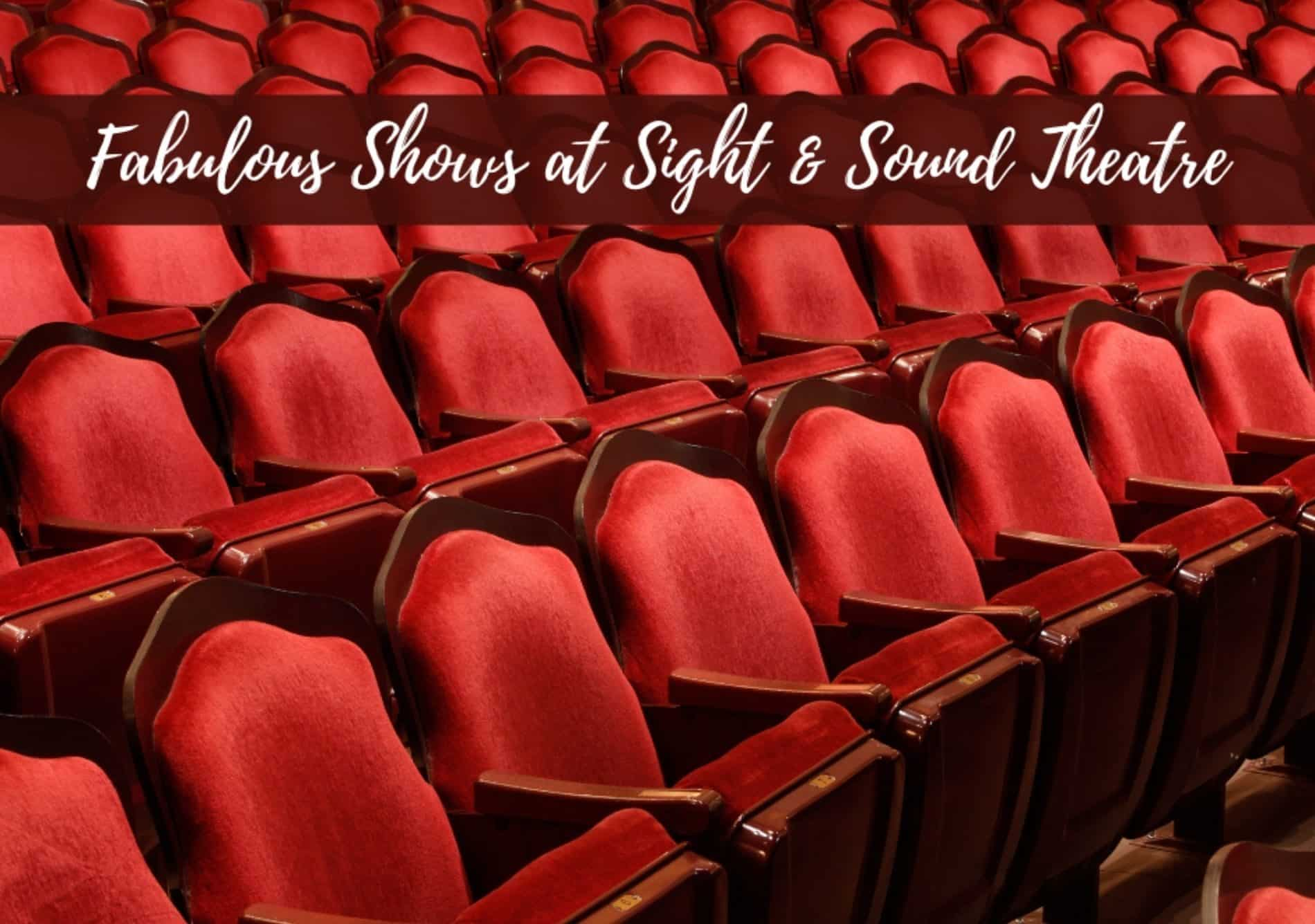 Rows of red velvet theater seats