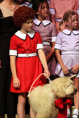 Color photo from Annie The Musical