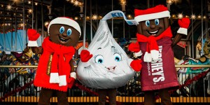 Colorful photo of Hershey candy characters