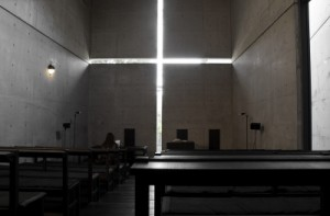 Interior of Church in Japan