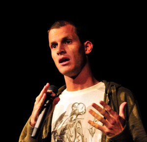 Photo of Daniel Tosh at Boston University