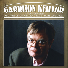 Color photo of Author Garrison Keillor