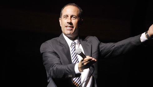Color photo Jerry Seinfeld