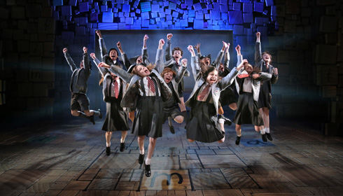 Color photo of Matilda The Musical