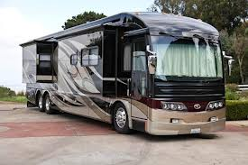 Color photo of an RV