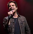 Photo of Patrick Monahan, lead singer for Train