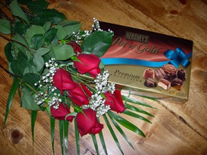 Photo of Roses & Chocolate Package