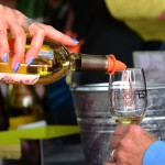 Photo of wine being poured into wine glass