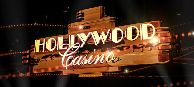Nighttime photo of Hollywood Casino, Grantville, PA