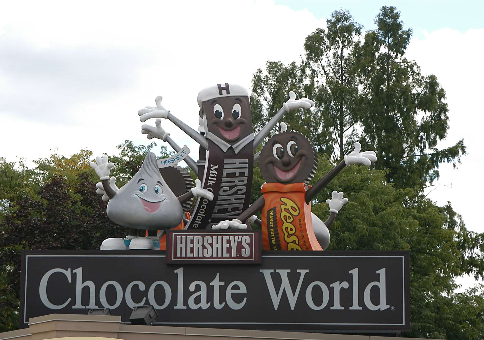 Picture of chocolate world.