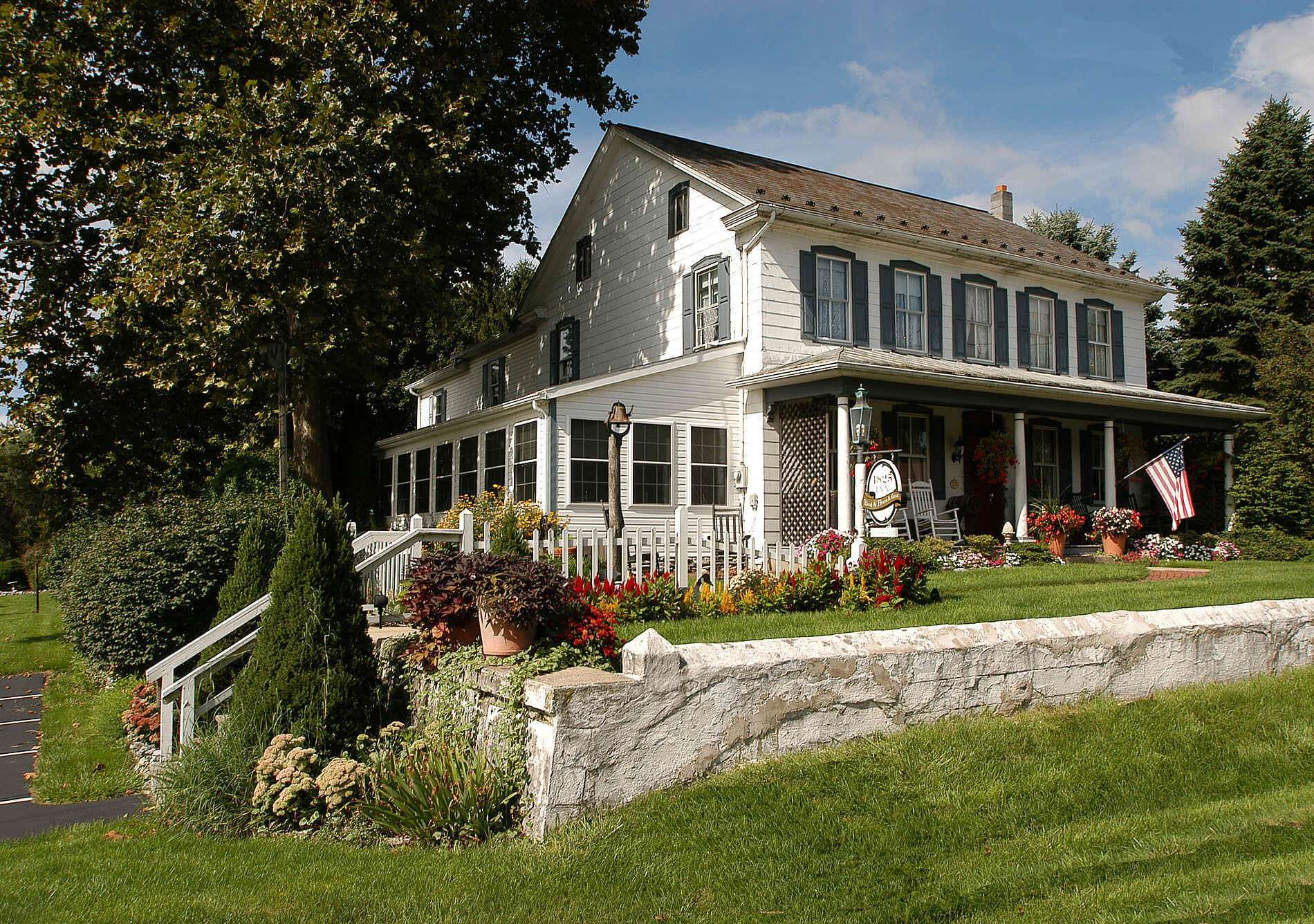1825 inn bed and breakfast near hershey pa for Bed and breakfast area riservata