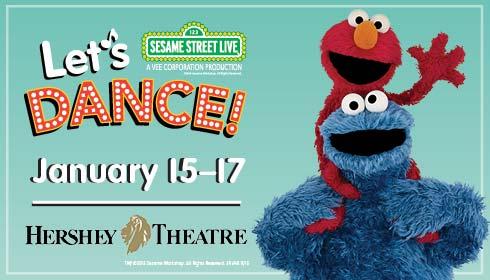 "Sesame Street Live ""Let's Dance!"""